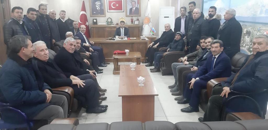 Eski Vekil Ali Güner ve Genel Başkan Abbas Gündüz'den İl Başkanına Ziyaret