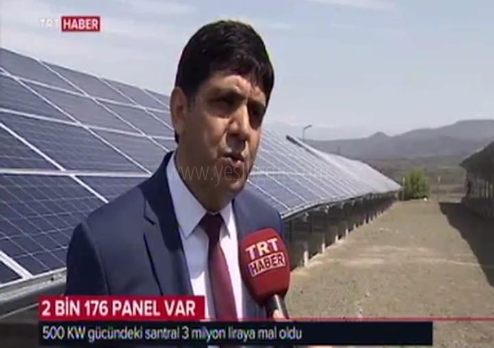 GES TRT  Haber'de Yer Buldu