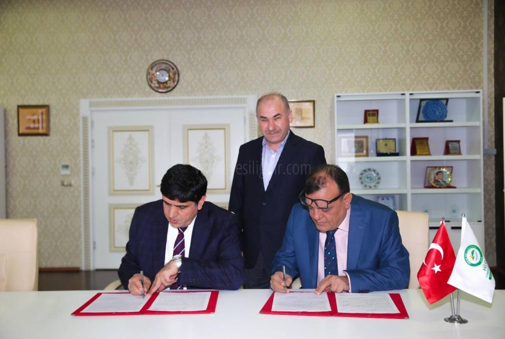 Iğdır Üniversitesi ile International Suleiman  University Arasında İşbirliği Protokolü İmzalandı