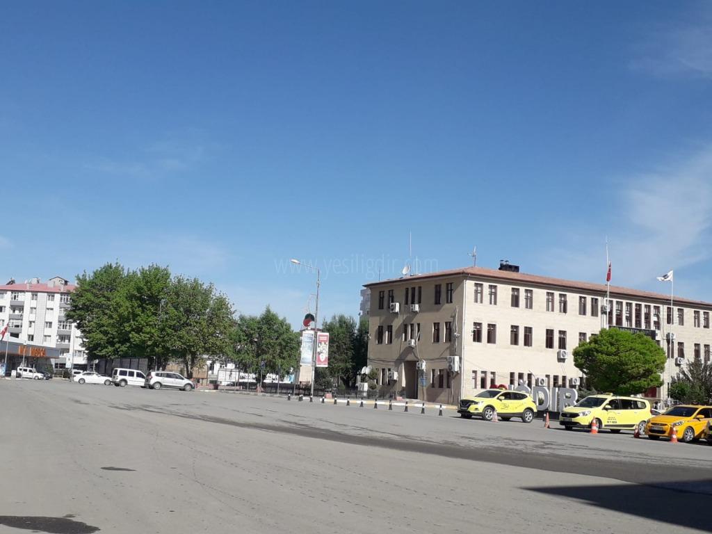 17 günlük kısıtlama başladı, Iğdır'da sokaklar boş kaldı