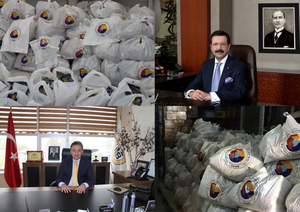 Iğdır Ticaret Borsası (ITB), Türkiye Odalar ve Borsalar Birliği (TOBB) tarafındanİhtiyaç Sahibi Aileler sevindirildi