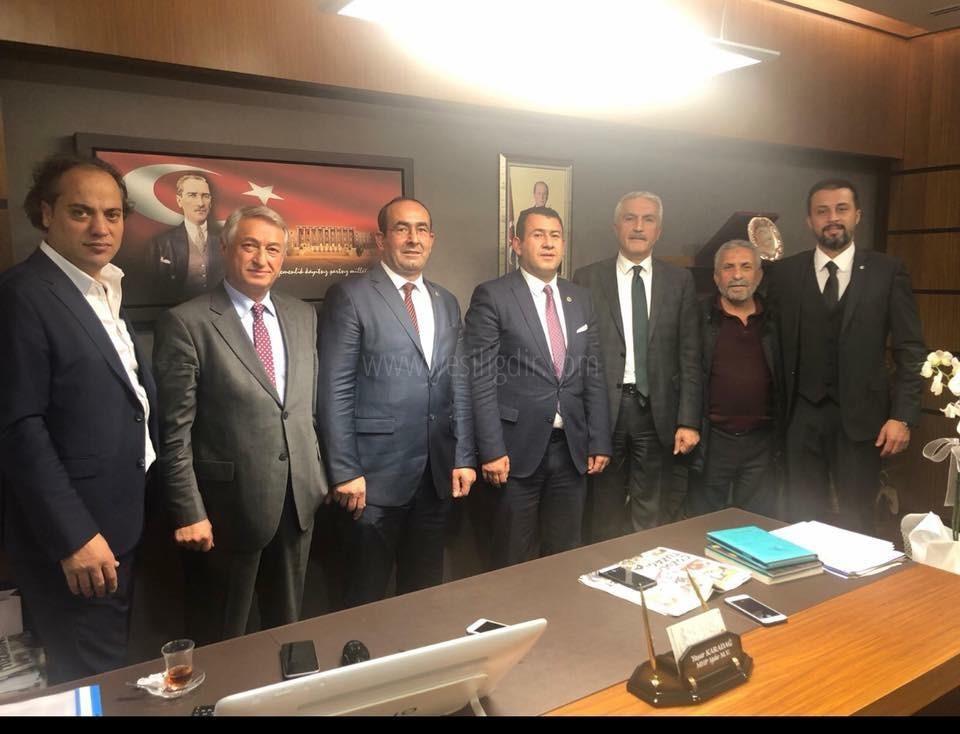 Iğdır MHP Belediye Başkan Aday Adayları Ankara'da Bir Araya Geldi