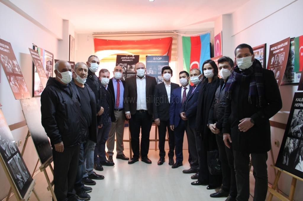 İstanbul Iğdırlılar Derneği ve İSTAD Hocalı Şehitlerini Andı