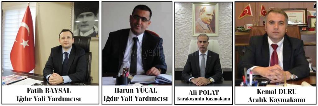 Iğdır'a 2 Vali Yardımcısı 2 Kaymakam Atandı