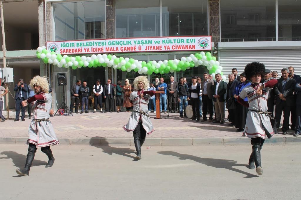 Iğdır'da gençlik yaşam ve kültür evi açıldı