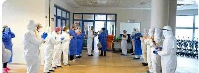 Iğdır'da, yeni tip koronavirüs (Kovid-19) tedavisi tamamlanan 18 kişi,  taburcu edildi.