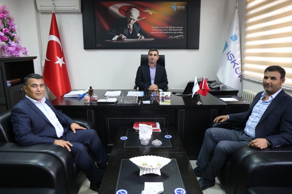 Başkanı Yaşar Akkuş'tan İŞKUR İl Müdürü Halis Erdoğan'a Ziyaret