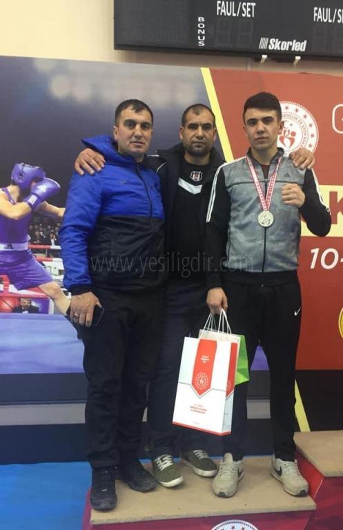 Şampiyon Cem Kaya, Avrupa Yolunda