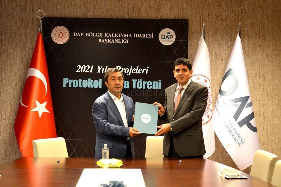 Iğdır Üniversitesi ve DAP Bölge Kalkınma İdaresi Başkanlığı Arasında Protokol İmzalandı
