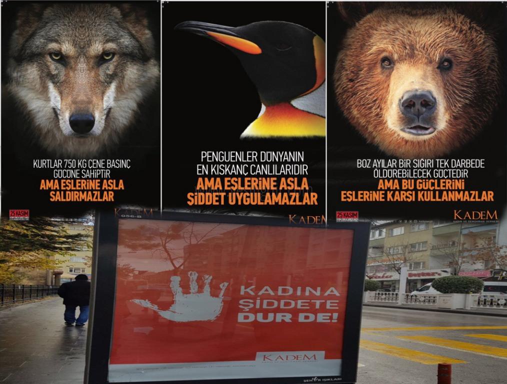 """KADINA ŞİDDETE HAYIR """"KADEM"""""""