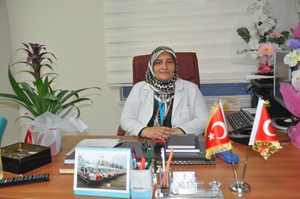 Başhemşire Emanet Turan  görevine başladı