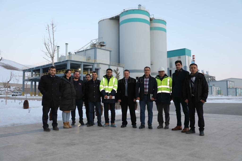 Iğdır Üniversitesi Mühendislik Fakültesi Akademisyenleri Çimento Fabrikasına Teknik Gezi Düzenledi