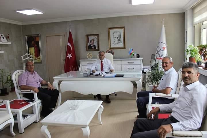 Milli Eğitim Müdürlüğünde Aylık değerlendirme toplantısı yapıldı