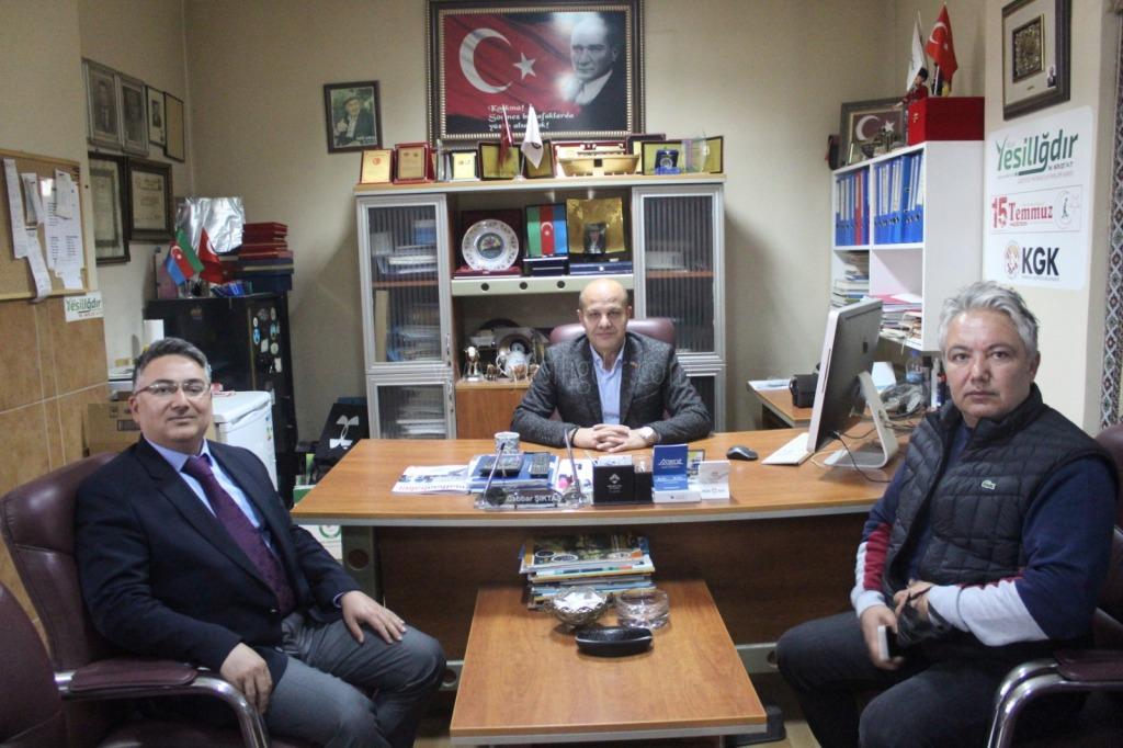 IĞDIR'IN GURURU DOÇ. DR. SEDAT IŞIKAY GAZETEMİZİ ZİYARET ETTİ