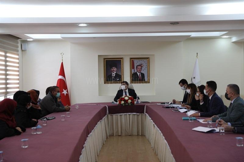 """""""Halk Günü Toplantısı"""" Vali  H. Engin  Sarıibrahim Başkanlığında Gerçekleştirildi"""