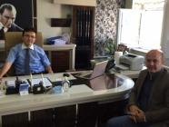 Vali Yardımcısı Aydın Börü'ye Hoşgeldin Ziyareti