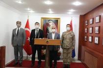 Vali/Emniyet Genel Müdürü   Mehmet Aktaş'tan Iğdır Ziyareti