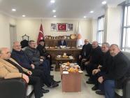 CHP'den Ak Partiye Hayırlı Olsun Ziyareti