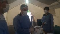 AK Parti ailesi Iğdır Devlet Hastanesi'ni ziyaret etti