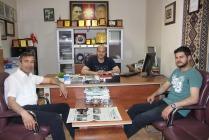 Osman Toka'dan Nezaket ziyareti
