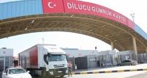 Dilucu sınır kapısı  gecici olarak kapatıldı