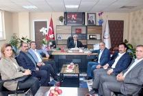 Ticaret Odasından  Nevruz Erez'e  ziyaret