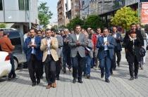 Iğdır'da gözaltılar protesto edildi