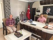 Vali Yardımcısı Yusuf Cankatar'a Hayırlı Olsun Ziyareti