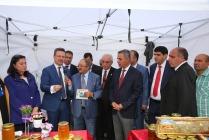 Rektör Alma, Iğdır Bal ve Yöresel Ürünler Tanıtım Fuarına Katıldı