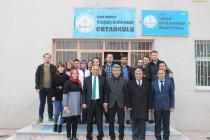 Milli Eğitim Müdürü Gönen'den  Yüzbaşılar  Okuluna Ziyaret