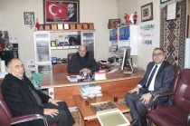 Sanayi ve Teknoloji Müdürü Ferdi Gürel'den İadeyi Ziyaret