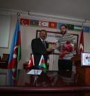 Dünya Şampiyonu Ramil Guluyev'e İSTAD'dan Özel Plaket...