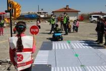 Jandarma Öğrencilere  Trafik Eğitimi Verdi