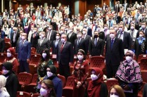 Rektör  Alma 2021-2022 Yükseköğretim  Akademik Yıl Açılış Töreni'ne Katıldı