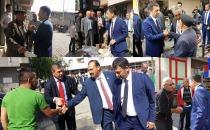 Mhp Iğdır  Milletvekili Adayları  Esnaf Ziyaretlerine Devam Ediyor