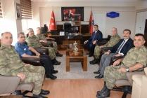 Komutanlar'dan, İl Emniyet Müdürlüğüne Ziyaret