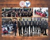 Iğdır'da 2019 Kulüpler Arası Halkoyunları yarışması düzenledi
