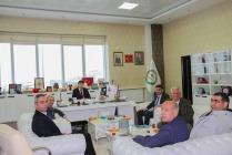 AK Parti Iğdır İl Teşkilatı,  Rektör Alma'ya iade-i  ziyarette bulundu.