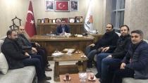 Ak Parti İl Başkanı  Ahmet Tutulmaza Ziyaret