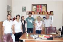 Ak Parti İl Başkanlığından 24 Temmuz Gazeteciler ve Basın Bayramı Ziyareti