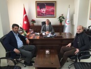 İl Sağlık Müdürlüğü Daire Başkanı Başaran'a Hayırlı Olsun Ziyareti