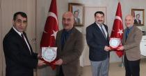 Defterdar Durak Sercan'dan Milli Eğitim Müdürü Hakan Cırıt'a Veda Ziyaret