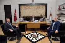 Başkan Çoban, kardeş şehir Belediye Başkanı Ali Varol'u ağırladı