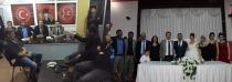 MHP Merkez İlçe Başkanlığına Ziyaret