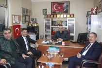Ak Parti İl Koordinatörü Gürcan ve İl Başkanı Ayaz'dan Nezaket Ziyareti