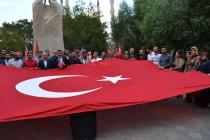 Iğdır'da 50'ye yakın Sivil Toplum Kuruluşunun Temsilcilerinden Teröre Kınama