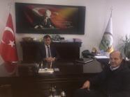 İl Özel İdaresi Genel Sekreteri Ferhat Akkuş'a Nezaket Ziyareti