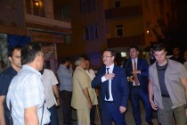 Vali Enver Ünlü, Emek Mahallesinde Vatandaşlarla bir araya geldi