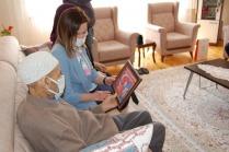 Hatice Sarıibrahim, Şehit Ailesini Ziyaret Etti