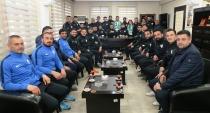 76 Iğdır Belediye Spordan  Başkanlara ziyaret